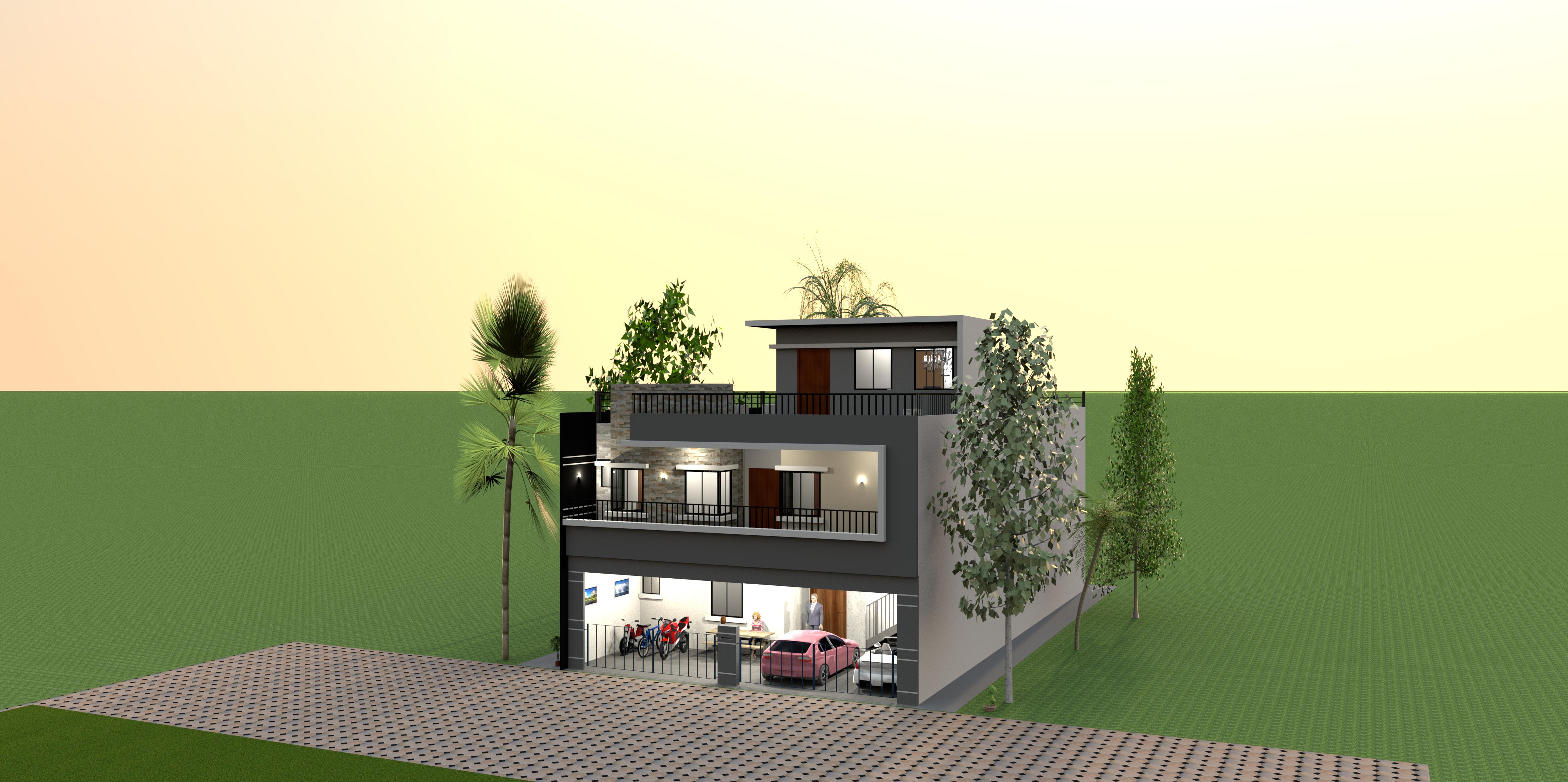 Rumah Kost Modern
